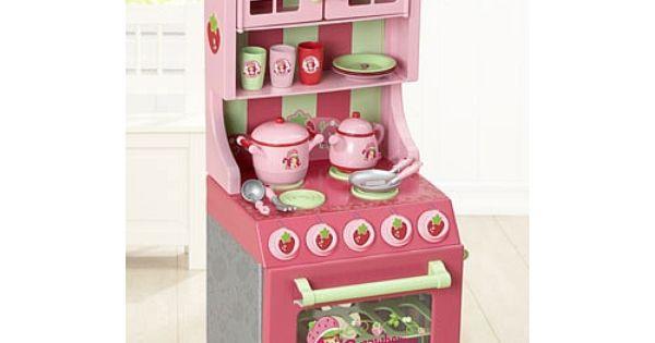 Strawberry shortcake kitchen set just like home toys - Just like home kitchen sink toys r us ...
