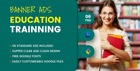 Education Banner Html5 Gwd By Demonswith Description Education Banner Html5 Ads Template Is A Clean And Uniqu Education Banner Branding Checklist Education
