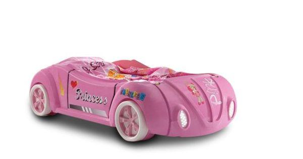 autobett princess in pink m dchenbett sch ne. Black Bedroom Furniture Sets. Home Design Ideas