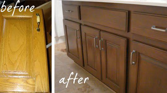 Working With What You Have Reglazing Honey Oak Oak Cabinets Oak Kitchen Honey Oak
