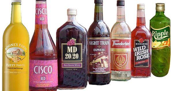 Wines -- vintage 1970s. Tasted just like Kool-Aid (no ...