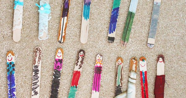 Work At A Hospital With Children Worry Dolls From Tongue