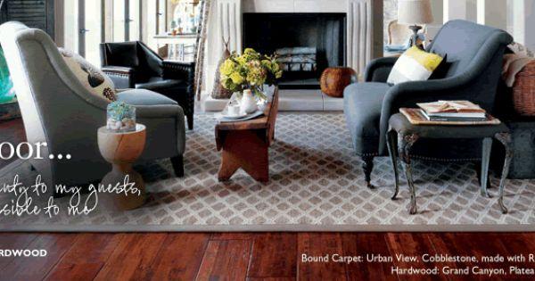 Little House Blog Solid Hardwood Floors Shaw Floors Hickory Hardwood Floors