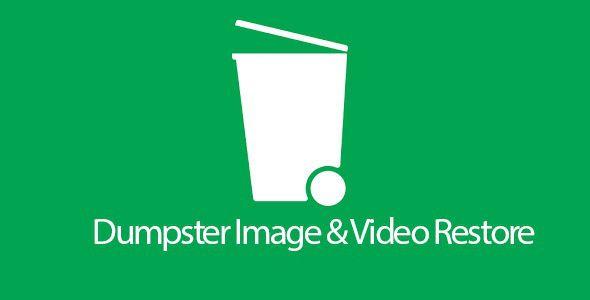 برنامج Dumpster لاسترجاع الملفات المحذوفة للاندرويد Professional Web Design Recycling Bins Restoration