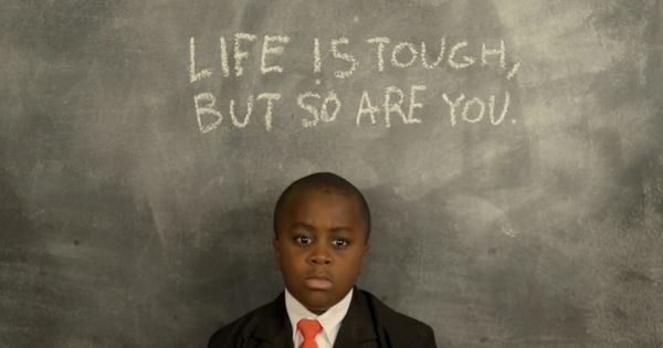 If you can't think of something nice to say, Kid President has