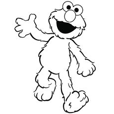 Cute Elmo Coloring Pages Free Printables Momjunction Elmo Coloring Pages Sesame Street Coloring Pages Monster Coloring Pages
