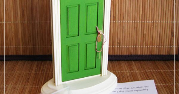Tooth Fairy Door from She's Making Cards blog - this is better