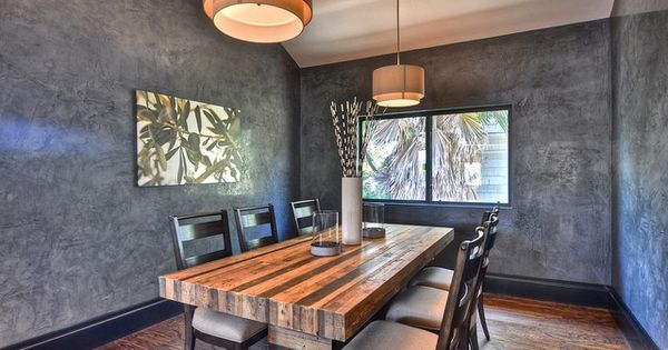 Large Butcher Block Dining Table Seats Eight Six Chairs