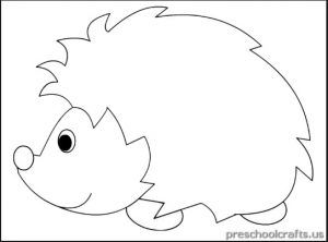 Hedgehog Coloring Sheet Coloring Pages Hedgehog Craft Coloring