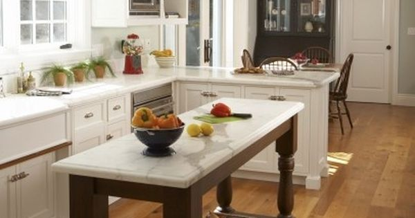 Skinny island add a farm house sink and it works for me for Skinny kitchen island
