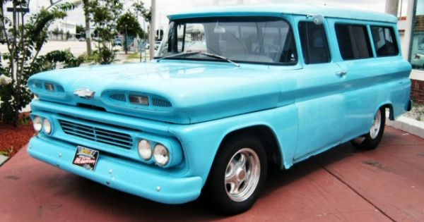 1960 Chevy Panel Truck Street Rod Panel Truck Chevrolet Trucks Classic Trucks