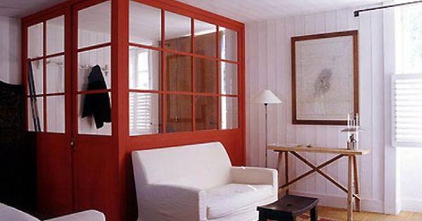 pour s parer une porte d 39 entr e qui donne dans le salon portes pinterest entr e fen tres. Black Bedroom Furniture Sets. Home Design Ideas