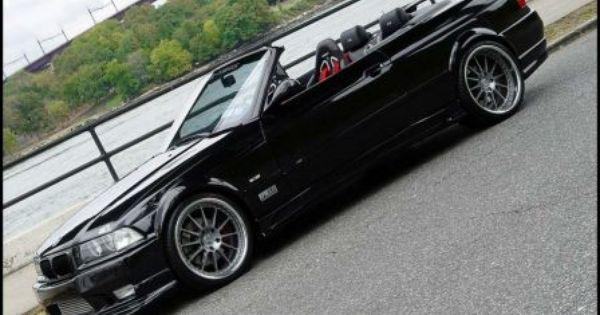 Bmw Convertible M3 Top Down Black E36 Glossy Hd Wallpaper 305
