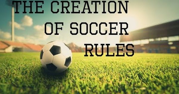 The Laws Of The Game Were Approved At A Meeting Of The Newly Founded Football Association Fa In December 1863 Laws Of The Game Soccer Soccer Ball