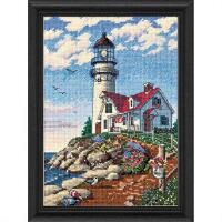 Dimensions Gold petite 6958 Beacon at Rocky Point Counted Cross Stitch Kit