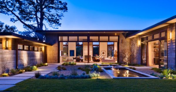 U Shaped House Design Ideas Pictures Remodel And Decor