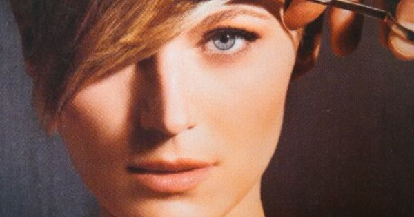 Brown Pixie With Blonde Highlights Hair Envy Pinterest