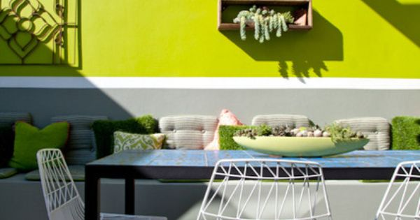 Lively Outdoor Space | Apartment Therapy
