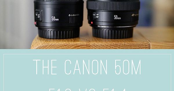 Ever wondered about the differences between these two lenses? Here's a comparison