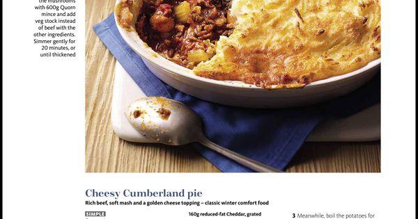 Slimming world Cumberland pie | Slimming recipes etc ...