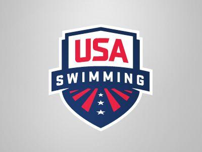 Usa Swimming Usa Swimming Event Logo Badge Design
