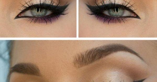 Makeup eye looks