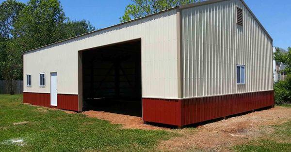 30x50x10 Post Frame Building : Post frame building garage nationalbarn