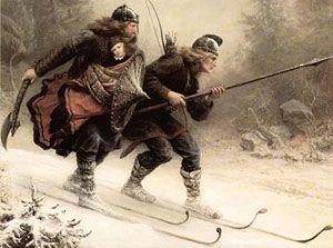 Ingebretsen S Scandinavian Gifts Culture History The Nordic Origins Of Skiing Art History Memes Classical Art Memes Funny Art