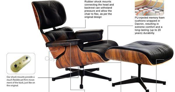 Eames lounge replica vitra black manhattan home design for Vitra replica shop