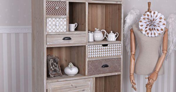 details zu wohnzimmerschrank loft regal vintage schrank