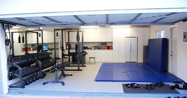 Gym garage dream way better than wasting time