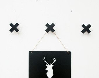 Coat Rack Faux Deer Head Modern Coat Hanger Wall Decor Wall Hooks Scandinavian Design With Images Shop Wall Decor Mug Display Skateboard Wall Mount