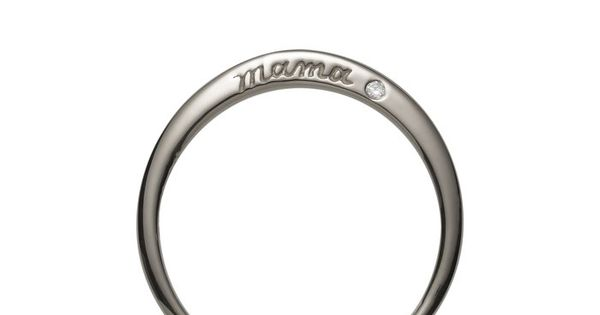 mother's day gift? Mama ring with diamond. mothersday birthday anniversary