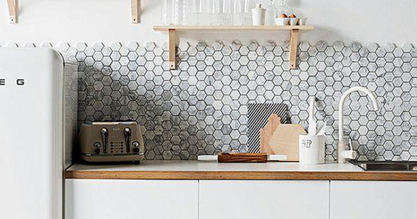 kitchen clean bright white design decor modern. Black Bedroom Furniture Sets. Home Design Ideas