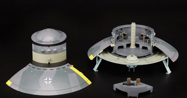 BRAND NEW Plastic Model Kit UFO Alien Spacecraft Flying ...