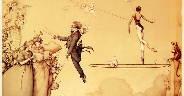Feel Free to Read: Michael Parkes Art