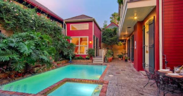 Check Out This Awesome Listing On Airbnb Secluded Pool House In The Marigny In New Orleans New Orleans Homes Vacation Home New Orleans Vacation