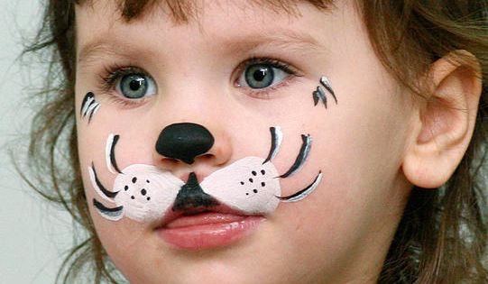 Face Paint - -Great idea for little ones who can't sit still