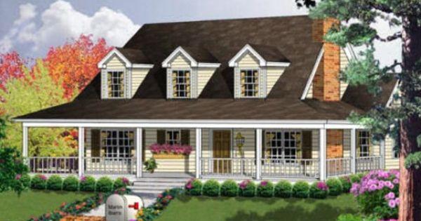 House Plans Country House Plans And Country Houses On Pinterest