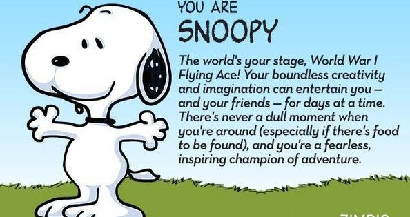 Which 'Peanuts' Character Are You? | Peanuts characters ...