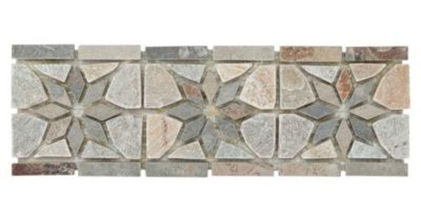 Alpha Slate Border Slate Borders And Bullnose Floor Decor Floor Decor Stone Tile Flooring Marble Border
