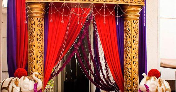 Decoraci n hind 3 fiesta indu pinterest decoraci n - Decoracion indu ...