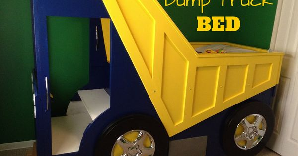 True hope and a future dude 39 s dump truck bed bedroom decor ideas pinterest truck bed - Dump truck twin bed ...
