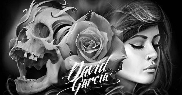 Amazing Artist David Garcia @davidgarciatattoo Girl Rose