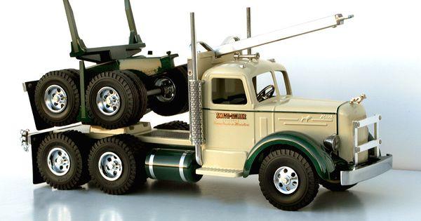 Toy Log Trucks Smith Miller Mack Log Hauler Vintage