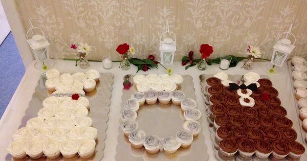 Jack And Jill Wedding Shower Ideas: Jack And Jill Wedding Shower Cupcakes