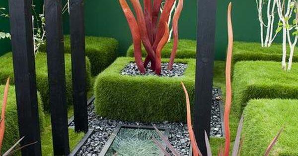 Am nagement jardin moderne 55 designs ultra inspirants design zen et d co - Jardin moderne zen villeurbanne ...