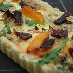 Biltong And Butternut Quiche Recipe Recipes African Food South African Recipes