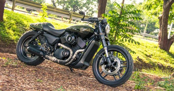Harley Davidson Street  Test