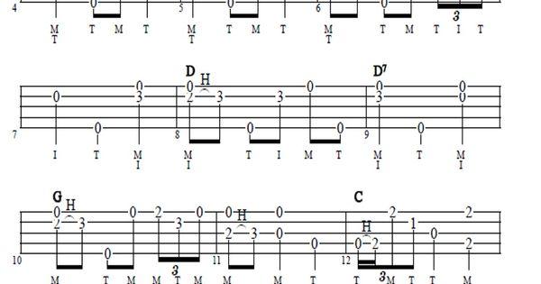 Amazing Grace : Banjo - tabulatury, tablature, tab, tabs : Pinterest : Amazing grace and Grace ou0026#39;malley